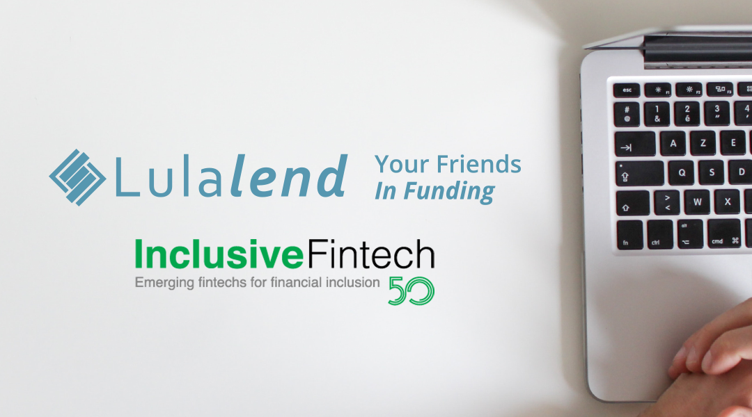 Lulalend named one of the Inclusive Fintech 50